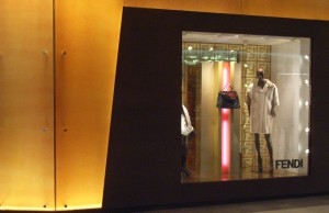 two story Fendi at 66 in Shanghai