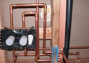 Copper is still used in some renovations & we are careful to document all hidden infrastructure, just in case......