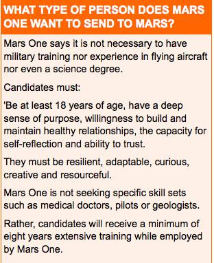 who mars?